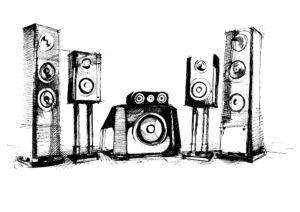 audio sistemos